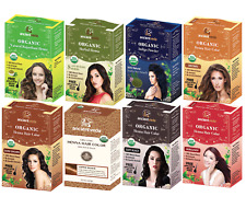 USDA Organic Henna Hair Color | Henna Hair Dye Treatment | 100% Natural & Vegan