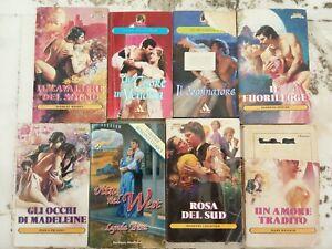 LOTTO 8 ROMANZI MONDADORI - Romanzi rosa storici