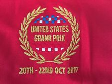 F1 Formula 1 US Grand Prix October 20-22 2017 polo shirt sz S NWT