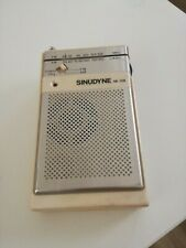 Radio portatile SINUDYNE SR-158 UK design made in HK funzionante