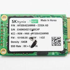 Original mSATA SATA III SSD HDD Hard Disk 64Gb Hynix HFS64G3AMNB-2200A AD