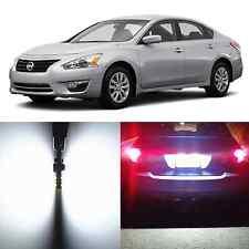 Alla Lighting License Plate Light 2825 White LED Bulbs for Nissan Altima Armada