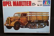XZ137 ITALERI 1/35 maquette camion 221 Opel Maultier German Half Track Sd. Kfz.3