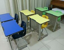 Children's Study Desk and Chair Set - Imported from South Korea