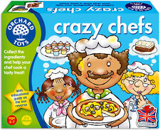 Orchard Toys Educational Games - Crazy Chefs - Brand New