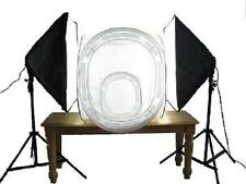 "Pro 1600 watt Photo Studio continuous softbox lighting 32"" & 16"" photo tent kit"
