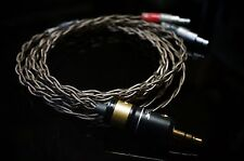 Whiplash Audio TWag v3   Sennheiser replacement Headphone Upgrade cable HD800