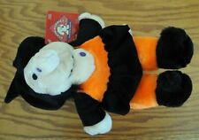 PLUSH PUPPIES Witch Dog Stuffie. It squeaks!