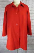 NEW Woman Within Wool Blend Classic A-Line Coat Plus SZ 18W Thick Winter Jacket