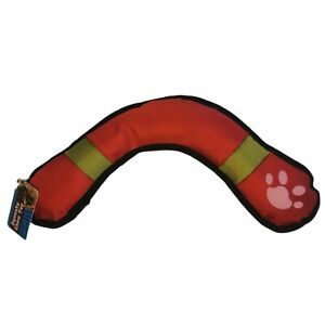 """Squeaky Dog Toy Boomerang Fun Play Throwing And Chew Dogs Play Toys 15"""" - 38cm"""