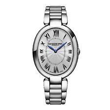 Reloj de Cuarzo Raymond Weil 1700-ST-00659 Brillo de Plata para Mujer