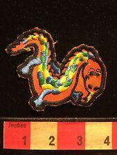 "Colorful Dragon Or Lizard Hallmark Brand ""Rumper Stitcher"" Patch 66Z9"
