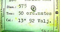 1 Valjoux 92 roue d'échappement part 705 for chronograph Chronographe