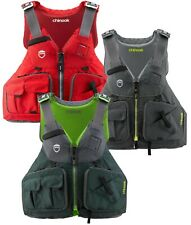 NRS Chinook Fishing PFD Life Jacket WORLDS BEST SELLING Kayak Angler Type III
