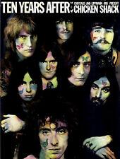 Ten Years After + Chicken Shack ORIG Konzertplakat 1969 Kieser ZUSTAND BEACHTEN