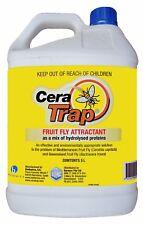 CERA TRAP REFILL - 5 LITRE - Mediterranean & Queensland Fruit Fly Attractant