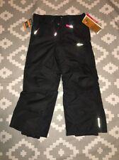 New CHAMPION C9 Water Resistant Black Pink Snow Pants Ski Girls Sz XSMALL 4/5