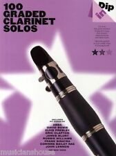 100 Graded Solos For Clarinet Sheet Music Book Pop Play ABBA BEATLES SONGS ROCK