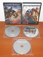 Transformers + La venganza de los caidos + El lado oscuro de la luna [3 DVD's]