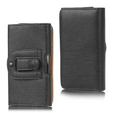 Belt Clip Pouch Holster Leather Case Cover For BlackBerry KEYone