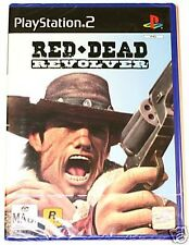 Red Dead Revolver (PS2) - Rockstar Game + manual - Cheap Price. Playstation 2