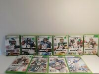 Madden Games Xbox 360 Cleaned and Tested!