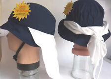 UV Schutz KU46 47 48 49 50 51 52 53 Nackenschutz Sommer Sonnen Hut Kinder Jungen