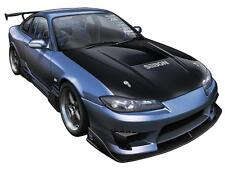 S15 Silvia Blue Extreme Drift Racing Car Art Garage Wall Decal Sticker Graphic