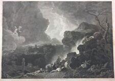 NIOBE 1836 John Charles Varrall Richard Wilson Apollo Original ANTIQUE ENGRAVING