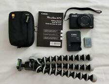 Canon PowerShot G7X 20.2MP Digital Camera - Black (with 24 -100 mm Lens) WiFi