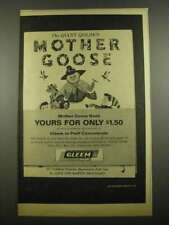 1964 Gleem Tooth Paste Ad - The Giant Golden Mother Goose