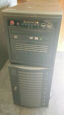 Supermicro 8-Bay Server Tower with X7Da3 Motherboard - Parts Only (*)