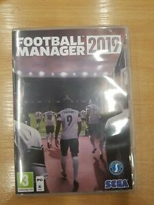 Football Manager 2019 Empty PC Game Box Cover only No Game Cd No Code