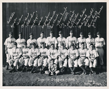 1946 Danville Dodgers vintage original team photo Bill Eberly estate last one!