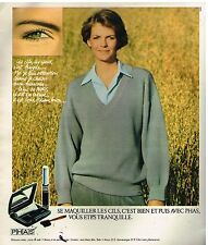 Publicité Advertising 1978 Cosmétique maquillage Phas