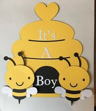 BeeHive and Bee It's a Boy sign. Great for Baby Showers