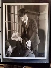 "1932 William Powell & Joan Blondell Warner Bros. ""Lawyer Man"" Movie Still Photo"