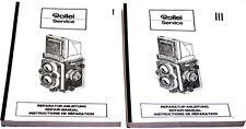 Rollei Service fotocopie manuale per riparatori  Rollei Biottiche Vol.I,III D341