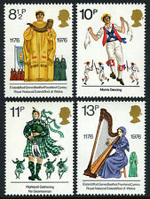 Great Britain 790-793, Mnh. British Cultural traditions, 1976