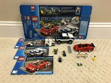 Lego City High Speed Chase Set #60007 with original box, instructions & minifigs