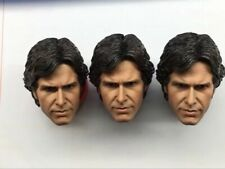 "Custom 1/6th Young Harrison Ford Head Sculpt Star Wars For 12"" Man Figure Body"