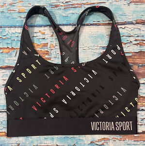 Womens VICTORIAS SECRET Sports Bra XS Multicolored fitness workout