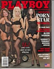 Playboy March 2002 ~ Porn Star Issue, Jenna Jameson Janine ~  Dasha , Janine