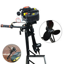 4Stroke 4HP Outboard Motor 52CC Boat Engine Short Shaft CDI AIR Cooling 2.8KW US