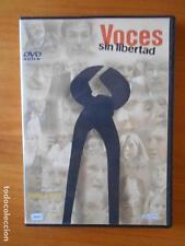 DVD VOCES SIN LIBERTAD - IÑAKI ARTETA - COMO NUEVA (Q3)