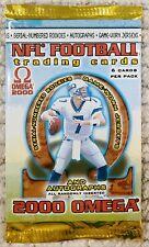 🔥 2000 Pacific Omega Football Pack (Tom Brady Rookie PSA 10?! Autographs?!)