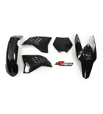 Racetech Plastics kit  BLACK. EXC-F 250 2008 - 2011