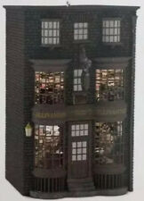 Harry Potter Ollivander's Wand Shop 2016 Hallmark Ornament Hogwarts Crease Box