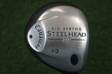 Callaway Big Bertha SteelHead III 3 Fairway Wood Ladies Flex Graphite 406880