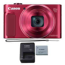 Canon PowerShot SX620 20.2MP HS (Red) Built-In Wi-Fi with NFC Digital Camera